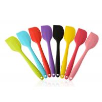 Buy cheap 82.5g Big Silicone Spoon Spatula , Durable Non Stick Spatula For Butter from wholesalers