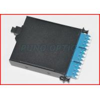 Wholesale 12 Cores 40G To 10G MTP Optical Patch Panel Single Mode LC Duplex from china suppliers