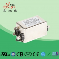 Wholesale Single Phase Power Line EMI Noise Filter 115/250VAC Oprating Frequency 50/60Hz from china suppliers