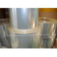China High Shrinkage Rate Transparent BOPP Film Is Environmentally Friendly Packaging Materials on sale
