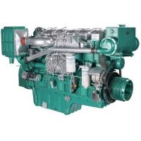 China Marine Diesel Engines 112 Kw 152 HP For Boat With Four Stroke Binary Cooling on sale