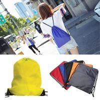 Wholesale Lightweight Polyester Drawstring Backpack Multi Purpose With Large Capacity from china suppliers