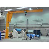 Wholesale 2 Ton Pillar Mounted Jib Crane / Small Mobile Lifting Equipment With Hoist from china suppliers