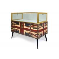 Wholesale Nordic Style Digital Products Showcase / Phone Display Cabinet Luxurious Glass Material from china suppliers