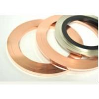 Buy cheap AgCu Copper Alloy Strip Precious Metal Dual Side Inlay For Electrical Brush from Wholesalers