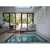 Buy cheap Glass Floor Toughened Laminated Glass With Black Border ISO 12543 Standards from wholesalers