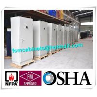 Wholesale Metal Fire Safe File Cabinets , Fireproof Storage Cupboards Moisture Proof from china suppliers