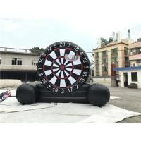 Wholesale Customized Outdoor Foot Dart Inflatable Sticky Soccer Dart Board Game from china suppliers