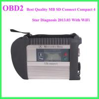 Wholesale Best Quality MB SD Connect Compact 4 Star Diagnosis 2013.03 With WiFi from china suppliers