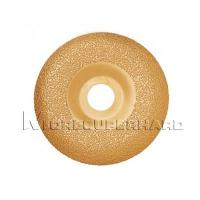 China vacuum brazed diamond grinding disc for grinding Marble, ceramic materials- zoe@moresuperhard.com on sale