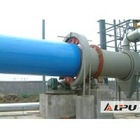 Industrial Slag / Limestone / Quartz Sand Drying Equipment with Automatic PLC control
