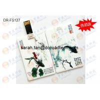China Customized Colorful Printing Plastic Credit Card USB Flash Drives on sale