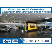 China Warehouse Pre Engineered Metal Building Steel Frame Structure With CE Mark on sale