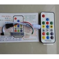 Wholesale IR Remote Control + Manuel Button Control Pixel SPI mini Controller from china suppliers