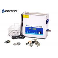 Wholesale Low Noise 10L Ultrasonic Cleaning Bath  Power Adjustable  With Sweep  Degass from china suppliers