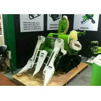 Wholesale Full Feeding Combine Harvester Mini Crawler Self Propelled 13Hp Rice Harvesting Machine from china suppliers
