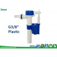 China Side Entry Toilet Fill Valve / WC Inlet Valve With Plastic Screw G3/8 on sale