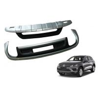 Buy cheap Front And Rear Bumper Guard Car Bumper Protector For Volkswagen All New Touareg 2016 from Wholesalers