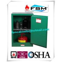 Wholesale 12 Gallon Green Safety Hazardous Storage Containers For Pesticide / Toxic from china suppliers