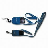 Wholesale Mobile Sock Lanyard with Polyester Strap and Mobile Holder Sock, Used to Pack Mobile Phone from china suppliers