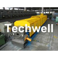 Wholesale 3 * 3 Squared Rainwater Downpipe Roll Forming Machine For Water Pipe, Rain Gutter from china suppliers