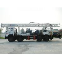 China truck mounted mobile drilling rig 600m full hydraulic water well drilling rig on sale