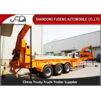 Wholesale 14.1 meters 3 axles container side lifter semi trailer from china suppliers