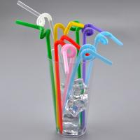 Wholesale Plastic PP Flexible straw drinking Straws for milk juce drinking straw from china suppliers