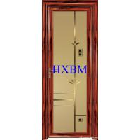 China Customized Color Aluminum Interior Doors  For Water Proof And Reinforcement on sale