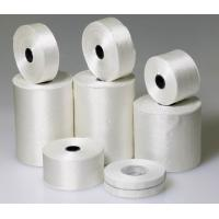 White Electrical Insulation Products Fiberglass Ribbon Tape For Transformers