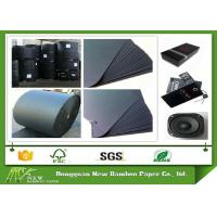 China High Durability Large Roll Of Black Paper One Side or Two Side smooth Surface on sale