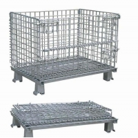 Wholesale Foldable Hot Dip Galvanizing 2000kg Metal Pallet Containers from china suppliers
