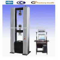 Wholesale WDW-D Floor Type Comuputer Servo Electromechanical Tensile Testing Machine / Universal Testing Machine from china suppliers