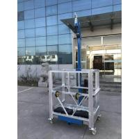 Wholesale Zlp Series Suspended Working Platform Easy Fold Aluminum Alloy Electric from china suppliers