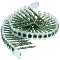 """Wholesale Collated Plastic Strip Bugle Head Drywall Screws To Wood Gray Phosphate #  6 X 1-1/4 """" from china suppliers"""