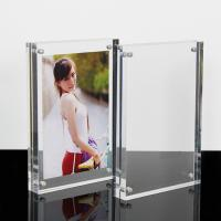 Wholesale High Clear Magnetic Custom Photo Frame Acrylic Material With Double Sided from china suppliers