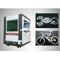 Buy cheap Small Format Fiber Laser Cutting Machine With Offline Movement Control from wholesalers