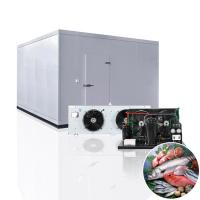 China Customized Freezer Cold Storage Room For Green Tea Or Pizza on sale