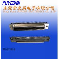 Buy cheap 64 Pin Female PCB Right Angle Low profile RJ21 Connector with Spring Latch from wholesalers