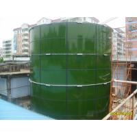 Wholesale Stable Glass Lined Steel Tanks For Landfill Leachate Storage / WWTP / Biogas Plant from china suppliers