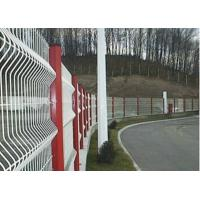 Wholesale Triangular Bends Garden Mesh Fencing Safety For Sport Field , 3-6.0mm Wire Gauge from china suppliers