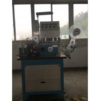 Wholesale Ultrasonic And Automatic Automatic Ribbon Cutter For Printed Lables , Label Folding Machine from china suppliers