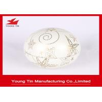 Wholesale Bubble Shaped Gift Packaging Egg Tin Box CMYK Printed For Christmas Day Promotion from china suppliers