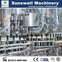 Buy cheap Glass Bottle Beer Production Line Champagne Filling Machine from Wholesalers
