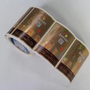 Buy cheap Custom Self Adhesive Product Label Stickers / Adhesive Paper Label Stickers from wholesalers