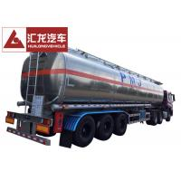 Wholesale 50000 L 5 Compartments Aluminum Fuel Tank Trailer Large Carrying Capacity from china suppliers