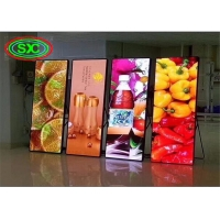 Wholesale 600W P2.5 1200nits Led Poster Advertising Board IP43 from china suppliers