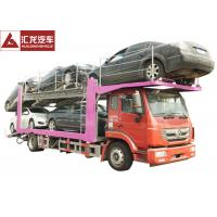 Wholesale 336 Horsepower Car Carrier Trailer , Durable Central Axle Car Holder Trailer from china suppliers