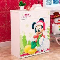 Wholesale E0 Grade Kids'/Children's Furniture, 2-door Shoe Cabinet with Printing Pictures from china suppliers