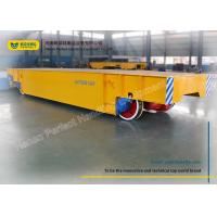 Wholesale Logistics Chemical Plant Motorized Transfer Trolley 80 Ton With Steel Plate from china suppliers